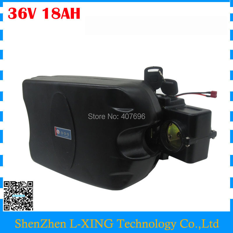 Free customs duty 36 V Electric Bike battery 36V 18AH Lithium battery use samsung 3000mah cell 15A BMS with 42V 2A Charger free shipping 48v 30ah 2000w lithium electric bike battery use for samsung 3000mah cell with 54 6v 2a charger and 50a bms