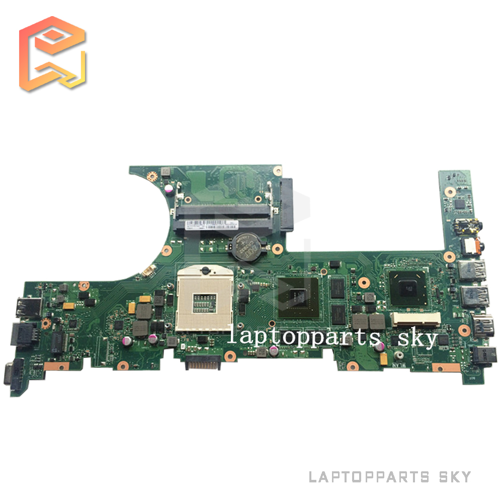 Original laptop motherboard for ASUS U32VM mainboard REV:2.0 DDR3 60-NT0MB1402-A04 fully tested works good for msi ms 10371 intel laptop motherboard mainboard fully tested works well