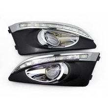 For Chevy AVEO 12 year special Daytime driving lamp special day lamp Daytime Running Lights LED Floodlight 2pcs free shipping iphcar waterproof dual color special outside led daytime running lights for 2013 cr v