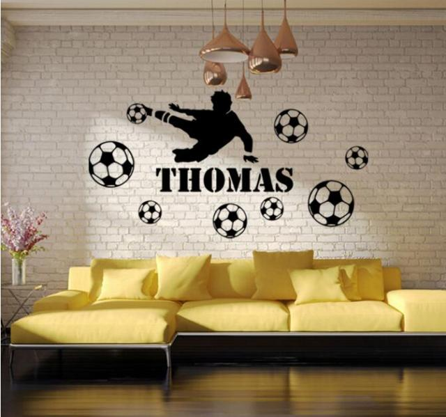 Large Ronaldo Decal Wall Sticker For Bedroom Girls Basketball Wall Decals  Stickers For Living Room Cheap
