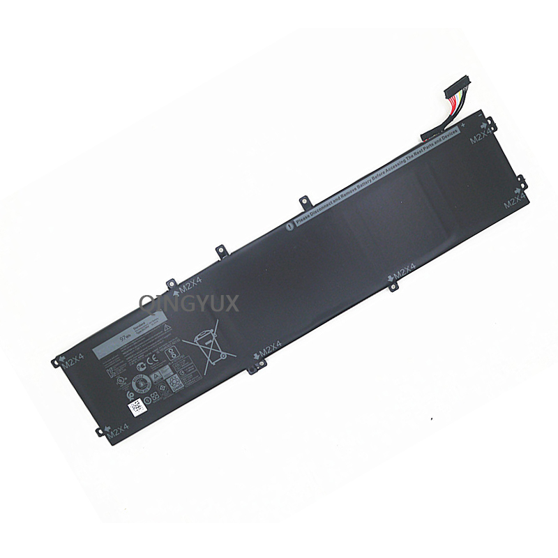 QINGYUX New 11.4V 97Wh 6GTPY Laptop Battery fpr Dell XPS15 9560 9550 Precision 5510 5520 M5520 5XJ28 Series Notebook Battery image