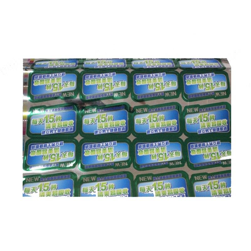 d62a8eeed رخيصة الزخرفية مخصص ملصقات طباعة مضادة للماء ماكينة الزجاجات البلاستيكية  التسمية ملصقا