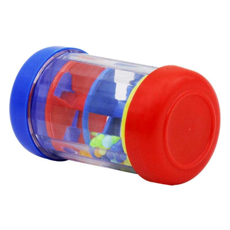 Дождевик шейкер Мини Красочный рейнстик музыкальный инструмент игрушка подарок для малышей Дети игры KTV Вечерние
