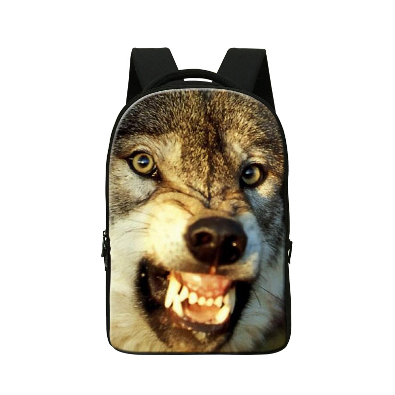 Wolf 3D Pattern Laptop Backpacks for Men,College Cool Bookbags,Animal Computer Back Pack for Boys,youth Stylish backpacking bags best laptop backpacks cool mens custom rucksack back pack womens college computer backpack bags for man business travel work