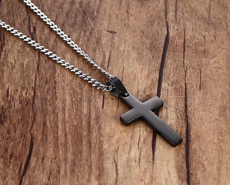 black-titanium-cross-pendant-necklace-2