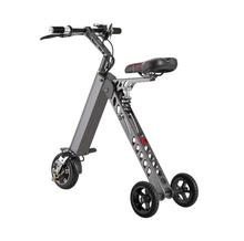 Foldable Electric Scooter Portable Mobility folding electric bike lithium battery bicycle