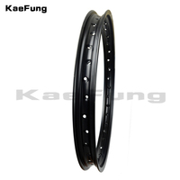 High quality 1.60/1.85/2.15*19 Inch 1.60/1.85/2.15 x 19 inch 36 Spokes Holes Aluminum Alloy Motorcycle Wheel Rims Circle