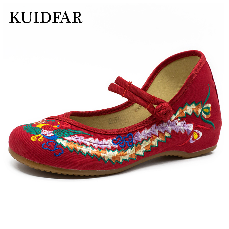 KUIDFAR Women flats fashion Moccasins Woman shoes slip on Ballet Loafers Chinese Casual Female Shoes enmayla most popular portable ladies loafers casual shoes woman ballet flats shoes women slip on flats shoes big size 34 43