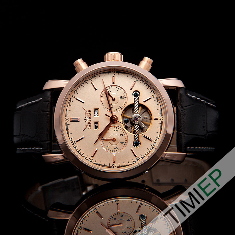 All Rose Gold Tone Luxury Tourbillon Automatic Mechanical Analog Elegant Mens Watch For Business Man t winner automatic watch mens trendy mechanical auto windding silicone band wristwatches modern elegant analog hollow clock gift