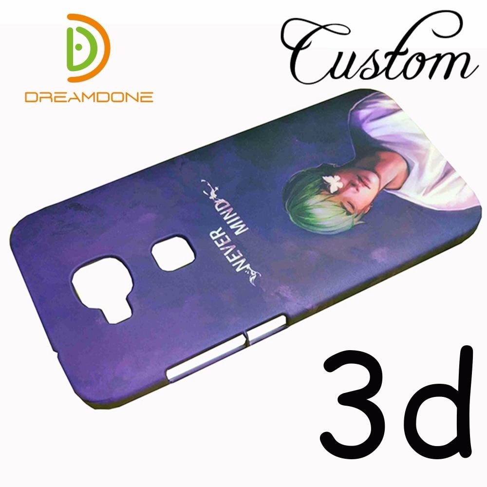 Anpassad 3D-fodral för plasttelefon för huawei honor v10 v9 acsend - Reservdelar och tillbehör för mobiltelefoner