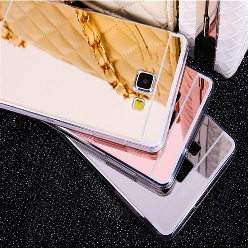 2016 New Stock Luxury Mirror Phone Case Soft TPU Back Cover For Samsung Galaxy A3 2016 2 ...