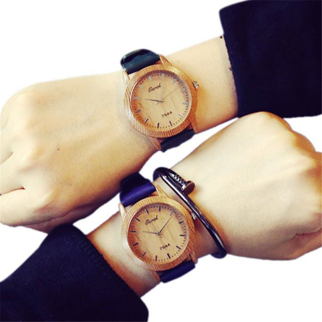 Fashion Students men woman watch Couple horloge Stainless Steel Minimalist Watch