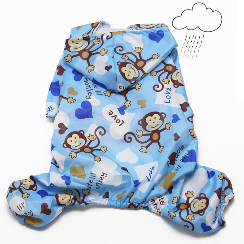 Водонепроникний собака одяг для маленьких собак дощовий пальто куртка з капюшоном собака плащ Yorkies чихуахуа одяг