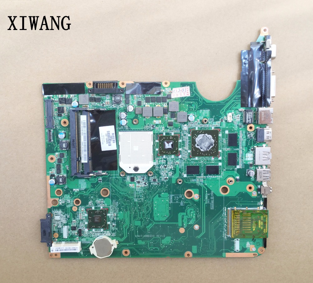 509450-001 Free Shipping For HP DV6 DV6-1000 Laptop Motherboard DAUT1AMB6E0 DAUT1AMB6D0 Tested Good 571188 001 for hp pavilion dv6 2000 dv6z 2000 notebook dv6 laptop motherboard daut1amb6e0 daut1amb6e1 m92 512mb fully tested