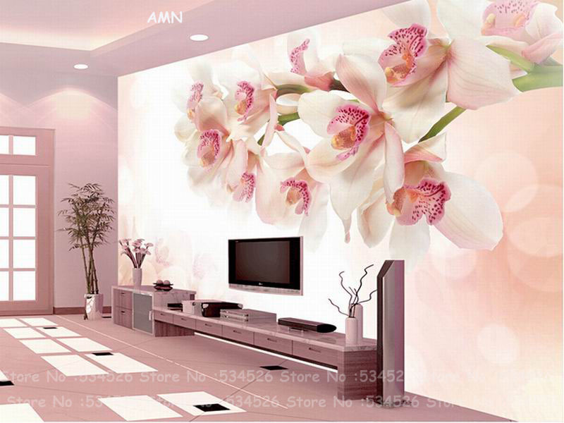 beautiful flower wallpaper papel de parede painel de parede tapete infantil wall paper mural wallpaper background homedecoration in wallpapers from home - Flower Wallpaper For Walls