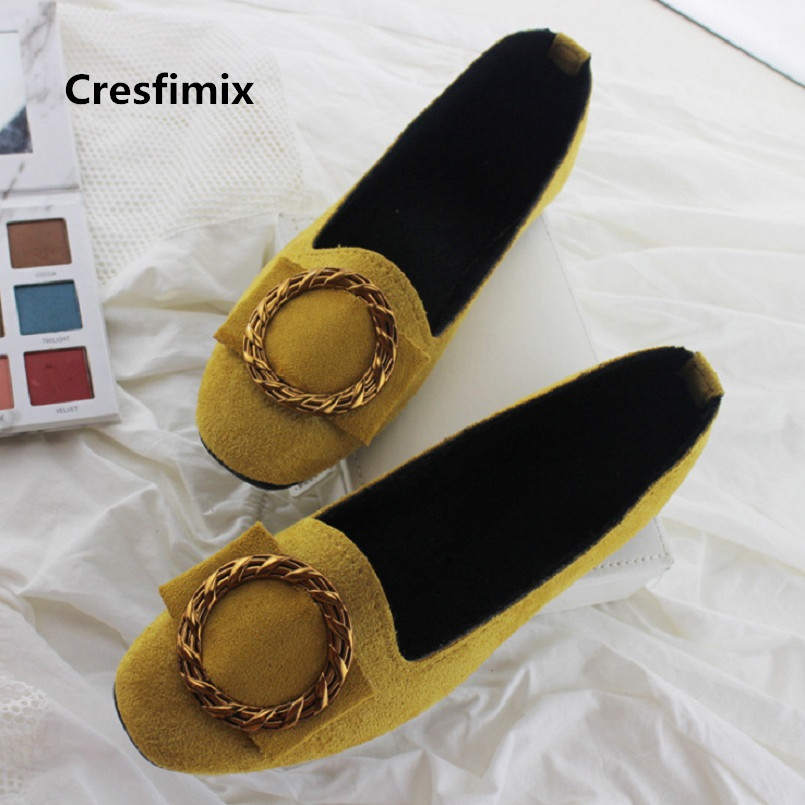 Cresfimix women fashion classic slip on flat shoes lady cute sweet spring & summer office shoes chaussures plates femmes a3545Cresfimix women fashion classic slip on flat shoes lady cute sweet spring & summer office shoes chaussures plates femmes a3545