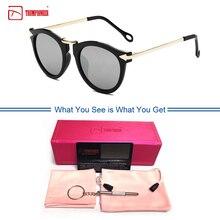 1982c46f74 TRUMPIONEER 2019 de moda de ojo de gato de plata Vintage espejo azul mujer  gafas de sol de Metal reflectante de lentes turismo g.