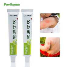 1pcs Anti Itching Cream Mosquito Bites Ointment Antibacterial Cream Chinese Herbal Medical Plaster Baby Adult Health Care P1022