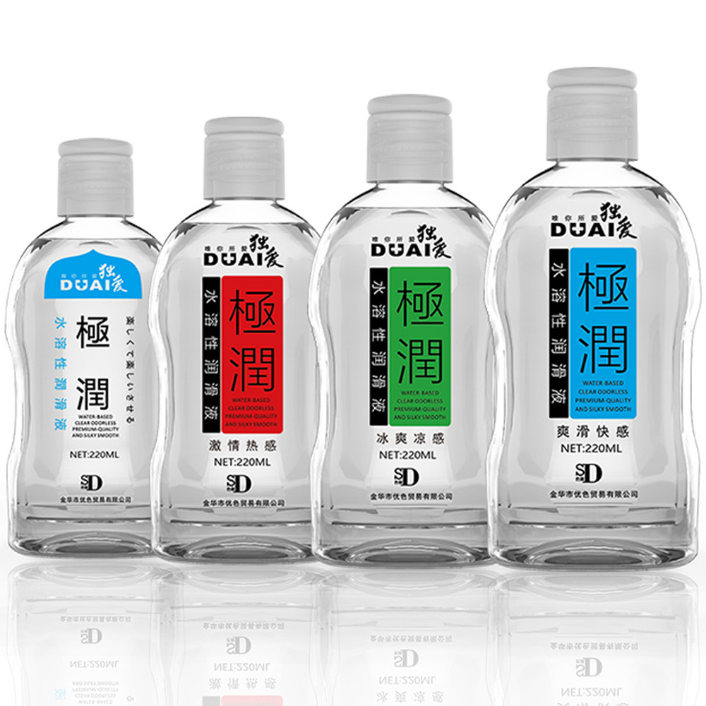 DUAI 220ML Water Based Lubricant, Grease for Sex, Lube Massage oil, Male and Female Lubrication, Gay Anal Lubricant for sex yarun 120g sex lubricant for sex lubricante anal vagina lubrication massage oil anal lube sexo