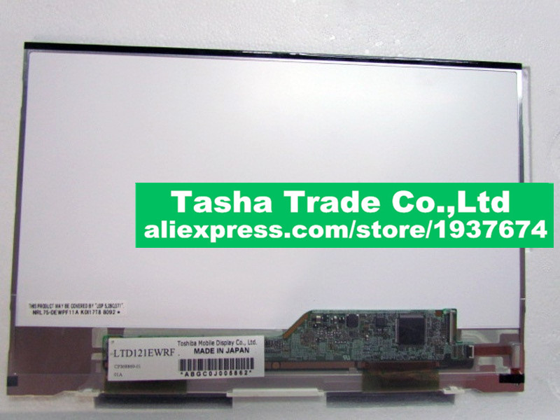 LTD121EWRF LCD Screen LCD Laptop Screen 1280*800 LVDS 30Pins Original Screen макс брукс успокоение ltd