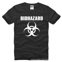 Resident Evil Biohazard Logo Printed Men T-Shirt