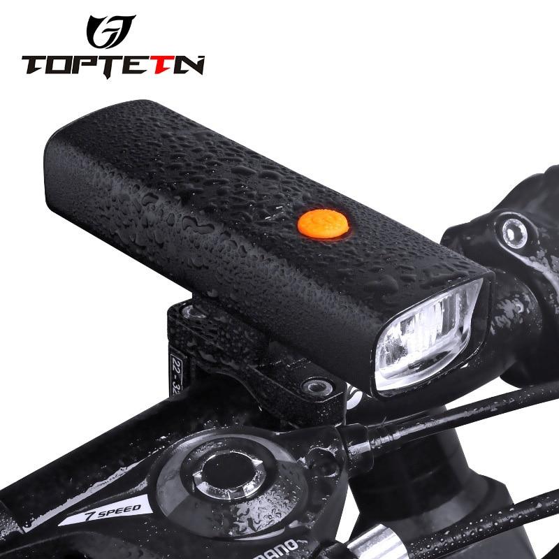 USB Bike Light Front Cycling Led Light Flashlight Headlight Bicycle Accessories