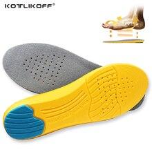 KOTLIKOFF стельки из пены, запоминающие форму пользовательские массажные стельки для ног Plantar Plantillas Para Los пироги стельки из пены, запоминающие форму обувной колодки Вставки