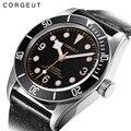 Часы Corgeut мужские  модные  армейские  механические  водонепроницаемые  спортивные  автоматические  2019