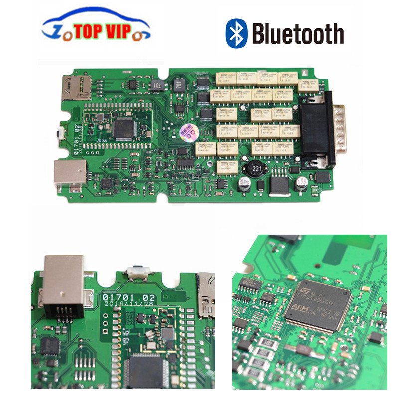 A+++ Quality Single Green PCB board TCS CDP Pro 2016.00 newest obd2 Scanner for cars&Trucks Auto Diagnostic Interface