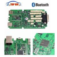 A Quality TCS Cdp Bluetooth Single Green PCB 2015 R3 Free Keygen OBD2 Diagnostic Tool For