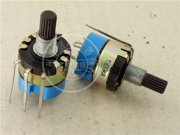 with Screws Handle Length Official Website Wh148 250k 254 Three Feet 15mm Handle Long Horizontal B250k Single Potentiometer 15mm