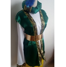 Arab Men Halloween Cotton-Blend Suit For Stage Performance