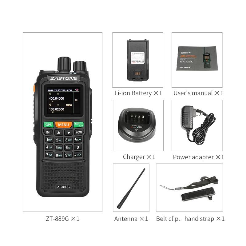 Radio 400-520/134-174MHz VHF/UHF 3000mAh
