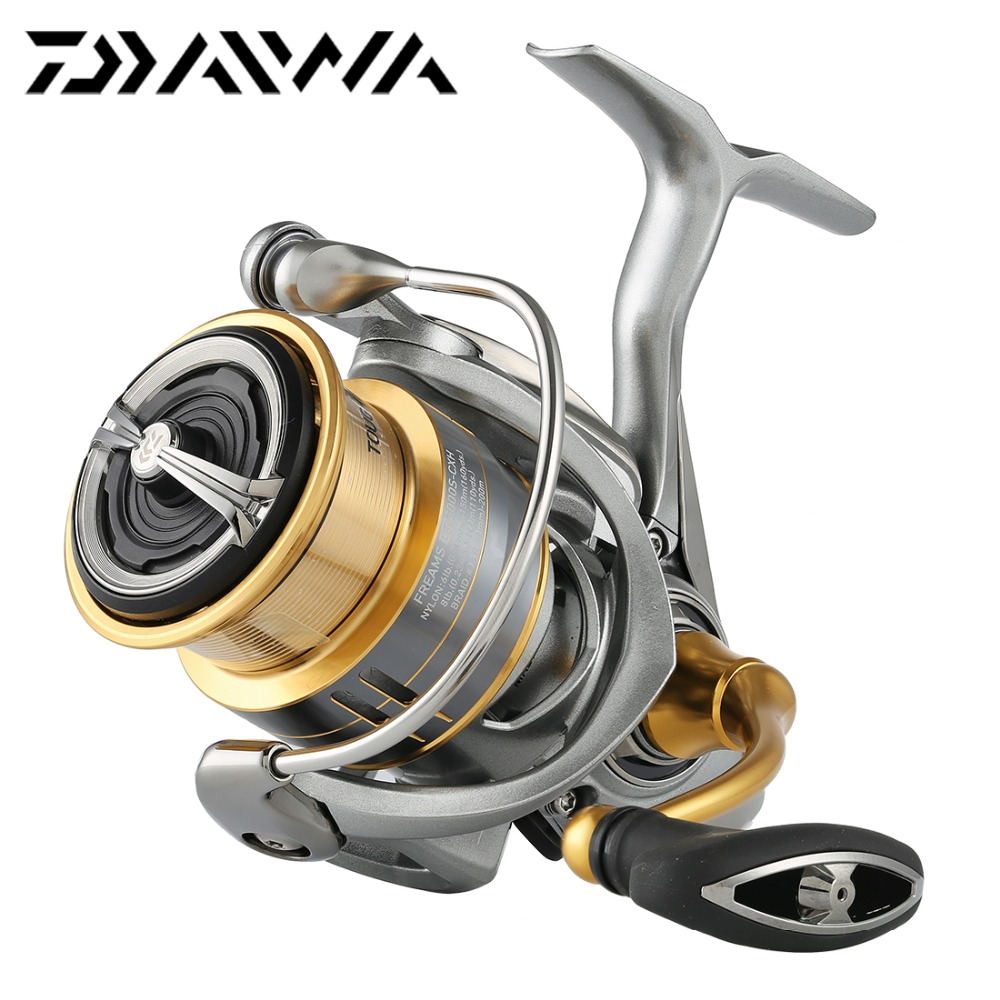 18 DAIWA FREAMS LT 2500S XH 3000 3000S CXH Spinning Fishing Reel Shallow Aluminum Spool 6BB