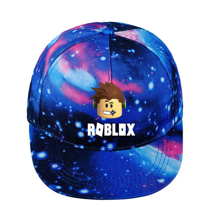 723a70444fa Roblox hat game around the starry hat flat cap to help Korean version of  men and