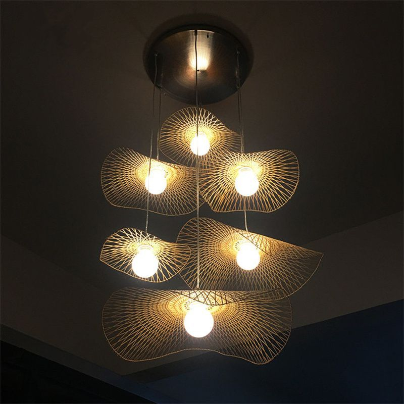 Japanese Southeast Asia Bamboo Led Pendant Lights Creative Personality Hanglamp Dining Room Tea Room Hanging Light Free ShippingJapanese Southeast Asia Bamboo Led Pendant Lights Creative Personality Hanglamp Dining Room Tea Room Hanging Light Free Shipping