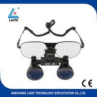 Lupa quirúrgica Binocular 3 0x lupa de uso dental con shipping-1set gratis