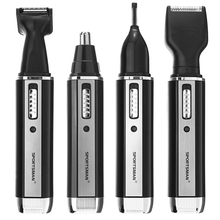 Cutting-Machine Trimmer Cleaner Hair-Removal-Tool Shaving Nose Electric Rechargeable