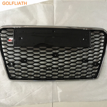 GOLFLIATH RS7 Car-Styling ABS Front Bumper Grille Grill For Audi A7 & S7 & RS7 Htachback 4-Door 2011-2014