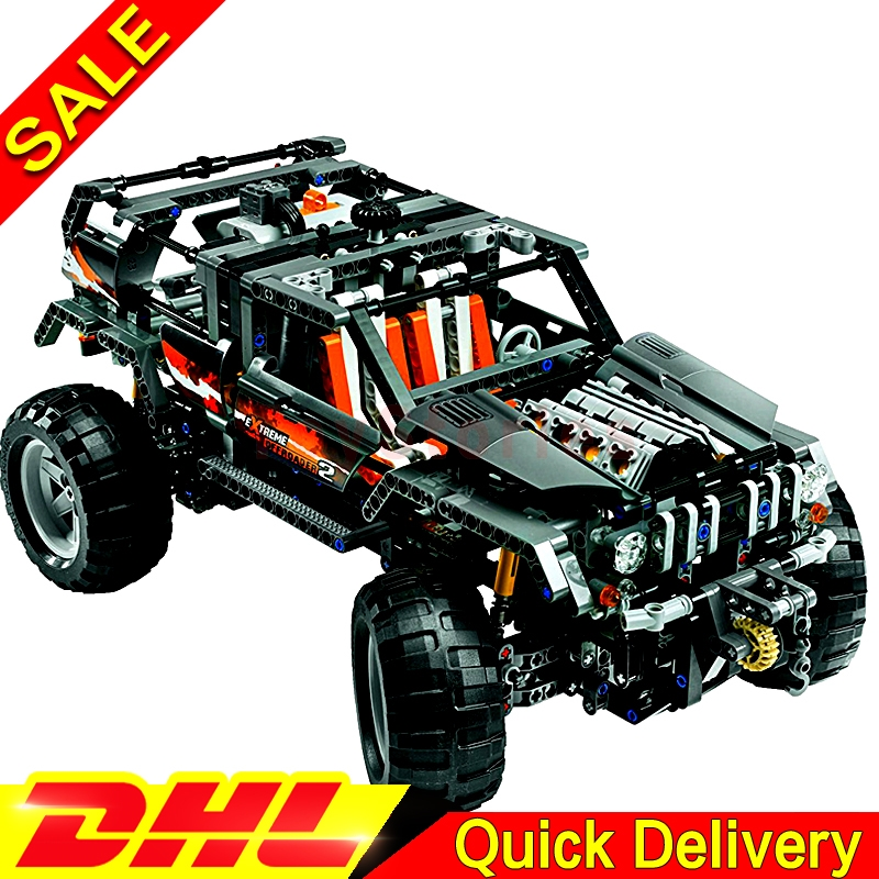 Lepin 20030 Technic Ultimate Kits The Off-Roader Children Educational Building Blocks Bricks DIY legoings Toy Model Clone 8297 lepin 20030 1132pcs technik ultimate off roader cars legoingly 8297 sets building nano block bricks toys for boy gifts