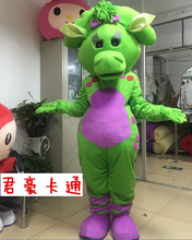 Dragon Mascot Costume Fancy Dress Adult Size Christmas Cosplay for Halloween party event