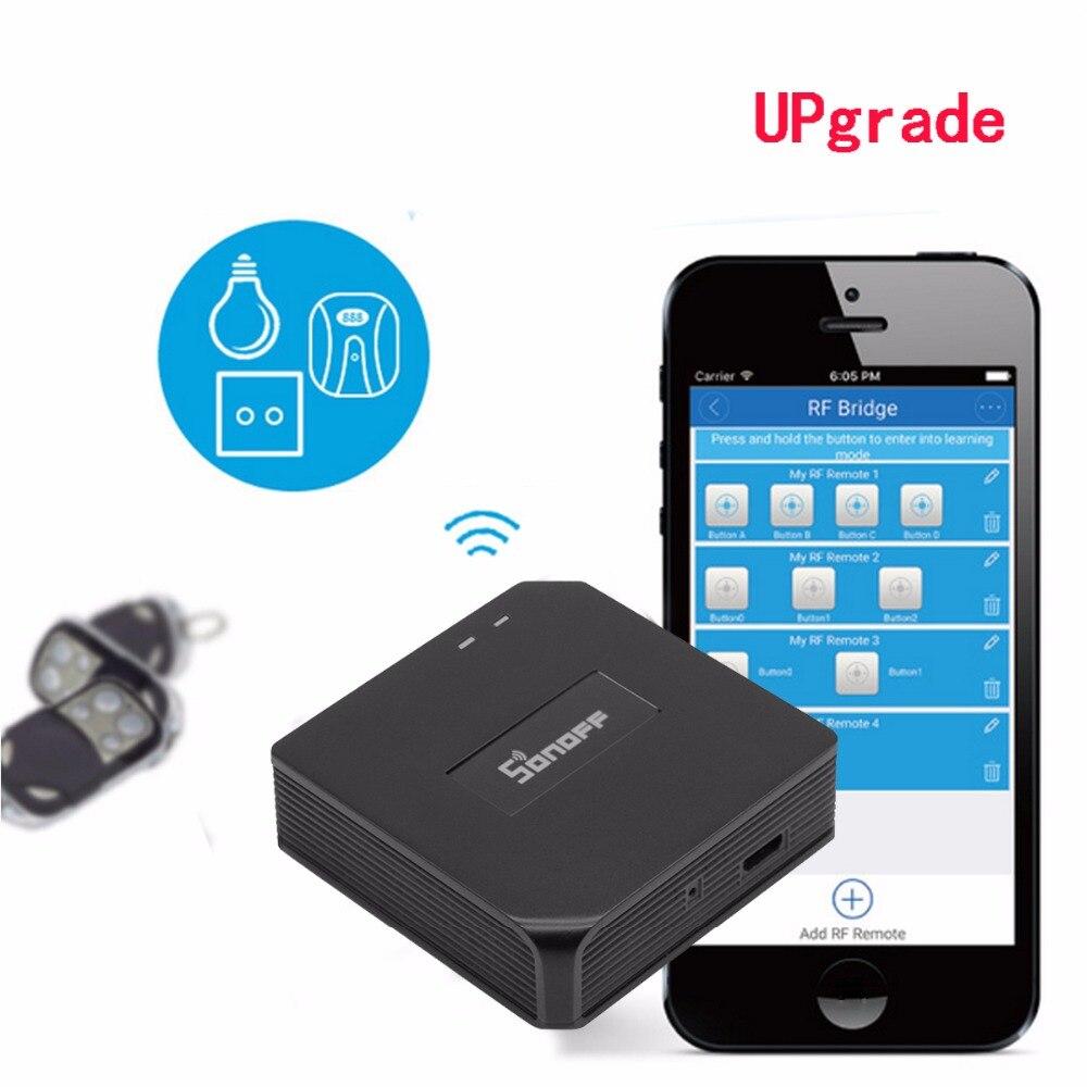 Atualizar Sonoff RF Ponte WiFi 433 MHz RF Controlador de Substituição Inteligente Switch Domotica Automação Residencial Inteligente Universal