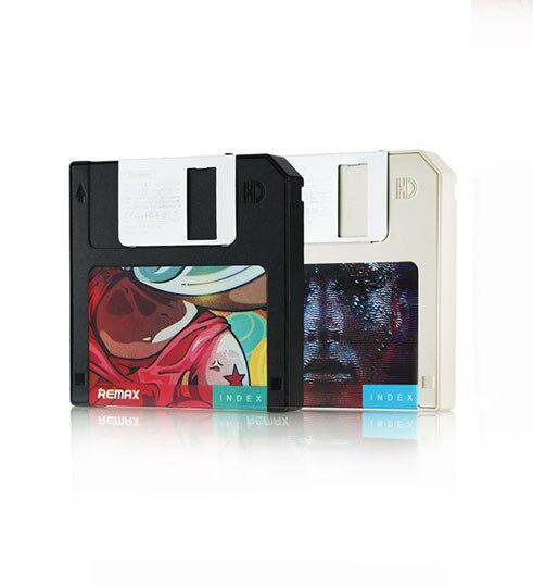 Original Powerbank Remax RPP 17 5000mAh Mini Disk Batteria External Portable Mobile Phone Camera Charger Power Bank for Phones