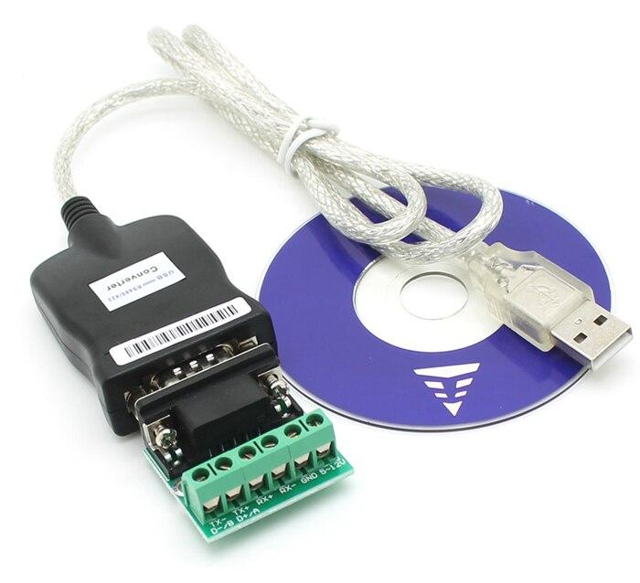 USB 2.0 USB 2.0 à RS485 RS-485 RS-422 RS422 DB9 COM Port Série Dispositif Convertisseur Adaptateur Câble, Prolific PL2303, livraison Gratuite