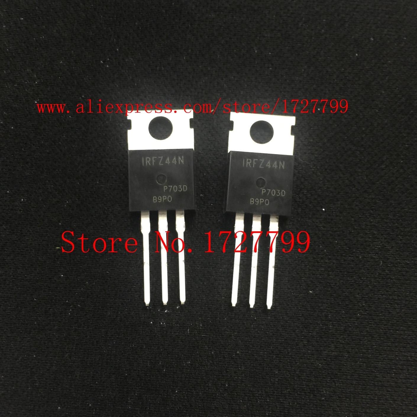10PCS/LOT IRFZ44N IRFZ44  49A 55V TO-220 MOSFET NEW10PCS/LOT IRFZ44N IRFZ44  49A 55V TO-220 MOSFET NEW