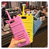 3D InterPhone Soft Plastic Silicone Funny Cute Mobile Phone Housing For IPhone7 7Plus Fashion Coque Funda