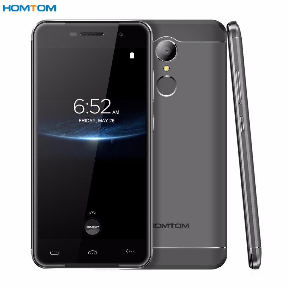 HOMTOM HT37 Pro RAM 3GB ROM 32GB Fingerprint Identification 5.0'' 2.5D Android 7.0 MTK6737 Quad Core up to 1.3Ghz 4G OTG OTA GPS