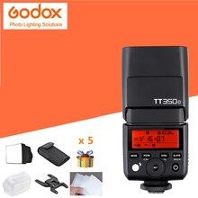 Godox Mini TT350N 2.4G TTL HSS 1/8000s Camera Flash Speedlite for Nikon D750 D7000 D7100 D7200 D5200 D5000 D300 D300S D3200