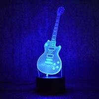 3D Led Visual Colorful USB Table Lamp Lampara Baby Sleeping Night Light Creative Fashion Music Electric