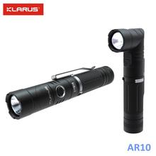 цена на KLARUS AR10 CREE XM-L2 U2 1080lm adjustable USB Rechargeable LED Flashlight by 18650 Battery